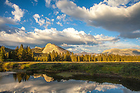 Lembert Dome and Reflection, Tuolumne Meadows