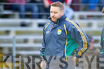 Kerry Trainer Cian O'Neill at their round Two of the National Football league game against Derry at Fitzgerald Stadium, Killarney on Sunday the 9th of February.