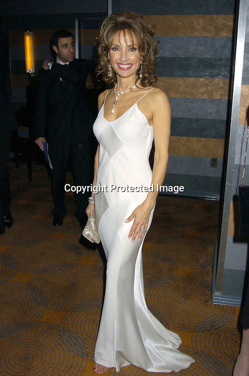 Susan Lucci ..at the Rainbow Room at the celebration for All My Childrens's 35th Anniversary after a show at Town Hall benefitting Broadway Cares Equity Fights Aids on February 7, 2005. ..Photo by Robin Platzer, Twin Images