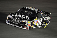Oct. 15, 2009; Concord, NC, USA; NASCAR Sprint Cup Series driver Clint Bowyer during qualifying for the Banking 500 at Lowes Motor Speedway. Mandatory Credit: Mark J. Rebilas-