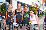 Amy Masner, Gary Connolly, Gillian Cordner, Marie Chapman at the Born to Run Ultra Marathon on Saturday