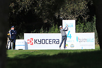 Cormac Sharvin (NIR) on the 4th tee during Round 3 of the Challenge Tour Grand Final 2019 at Club de Golf Alcanada, Port d'Alcúdia, Mallorca, Spain on Saturday 9th November 2019.<br /> Picture:  Thos Caffrey / Golffile<br /> <br /> All photo usage must carry mandatory copyright credit (© Golffile | Thos Caffrey)