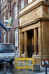 Norwich School of Art, stone cleaning with water jet