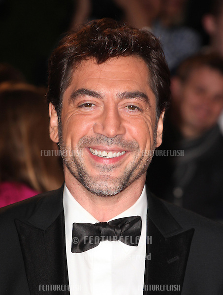 Javier Bardem attends the Royal World Premiere of 'Skyfall' at Royal Albert Hall, London. 23/10/2012 Picture by: Alexandra Glen / Featureflash