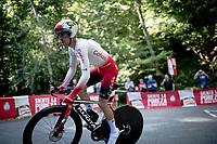 Nicolas Edet (FRA/Cofidis)<br /> <br /> stage 10 (ITT): Jurançon to Pau (36.2km > in FRANCE)<br /> La Vuelta 2019<br /> <br /> ©kramon