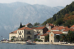 Front view of Perast