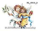 Interlitho, CHRISTMAS CHILDREN, WEIHNACHTEN KINDER, NAVIDAD NIÑOS, paintings+++++,KL6019/2,#xk# nostalgic,retro, angel,