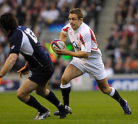 Twickenham, GREAT BRITAIN,  Jonny WILKINSON during the game between, England vs Scotland, Calcutta Cup Rugby match played at the  RFU Twickenham Stadium on Sat 03.02.2007  [Photo, Peter Spurrier/Intersport-images].....