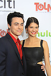 """One Life To Live's Robert Gorrie """"Matthew Buchanan"""" and ATWT """"Nate"""" and girlfriend at New York Premiere Event for beloved series """"One Life To Live"""" on April 23, 2013 at NYU Skirball, New York City, New York - as The Online Network (TOLN) - OLTL - AMC begin airing on April 29, 2013 on Hulu and Hulu Plus.  (Photo by Sue Coflin/Max Photos)"""