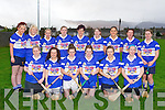 CAMOGIE: The Killeedy camogie team who competed in the inaugural Junior Club Camogie Tournament at Caherslee, Tralee on Saturday front l-r: Valarie Cremin, Claire Mulcahy, Emer Cunningham, Mary Cunningham, Niamh Cunningham and Marie Hayes. Back l-r: Laura Fitzpatrick, Patricia Aherne, Susan Walsh, Maria McEnery, Carmel Culhane, Hazel Barry, Alison Brosnan, Grace Kelly and Maura Aherne.