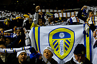 Leeds United fans cheer their side onto the pitch<br /> <br /> Photographer Alex Dodd/CameraSport<br /> <br /> The EFL Sky Bet Championship - Leeds United v Norwich City - Saturday 2nd February 2019 - Elland Road - Leeds<br /> <br /> World Copyright © 2019 CameraSport. All rights reserved. 43 Linden Ave. Countesthorpe. Leicester. England. LE8 5PG - Tel: +44 (0) 116 277 4147 - admin@camerasport.com - www.camerasport.com