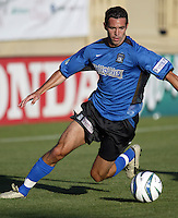 Ian Russell in action during an MLS match between the San Jose Earthquakes and MetroStars on June 13, 2004 in San Jose, California.  San Jose defeated the MetroStars 3-1.