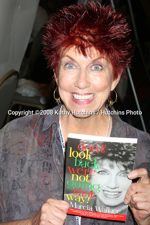 Marcia Wallace  at the Hollywood Collector's Show in Burbank,  CA   on July 18, 2009 .©2008 Kathy Hutchins / Hutchins Photo..