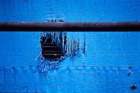 industrial textures - blue tarp