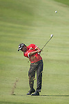 S.S.P. Chawrasia of India in action at the 10th hole during the 58th UBS Hong Kong Golf Open as part of the European Tour on 08 December 2016, at the Hong Kong Golf Club, Fanling, Hong Kong, China. Photo by Vivek Prakash / Power Sport Images