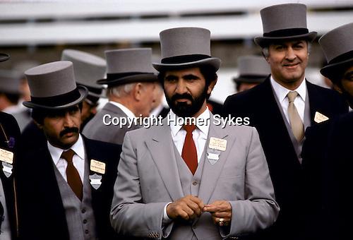 "Sheikh Mohammed bin Rashid Al Maktoum ""Royal Ascot"" England"