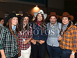 Michelle Dowling, Annmarie Branigan, Theresa Duke, Leah Histon and Gillian Johnson at the Hoolie on the Hill. Photo:Colin Bell/pressphotos.ie