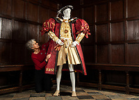 BNPS.co.uk (01202 558833)<br /> Pic: PhilYeomans/BNPS<br /> <br /> I'm in Charge...Henry VIII th forced Thomas Cranmer to hand over the enormous property in the 1540's.<br /> <br /> Wasted Paper...This might be the only chance history fans get to see the incredible paper creations that tell the story of one of Britain's most historic homes, as the National Trust becomes the latest victim of coronavirus.<br /> <br /> 'Fashioned from Paper' had only just opened at Knole House near Sevenoaks before the National Trust annouced the closure of the historic Kent property from today.<br /> <br /> Now Artist Denise Watson's intricate creations may never be seen as know one knows when the historic home will reopen.<br /> <br /> Denise had taken inspiration from the valuable collection of portrait paintings bought up by the aristocratic Sackville-West family over the stately homes 600 year history.<br /> <br /> The enormous building, one of the largest houses in Britain, was once owned by Archbishop Thomas Cranmer before Henry VIII th covetous gaze forced him to hand it over to the acquisitive monarch in the mid 16th century.<br /> <br /> Elizabeth I later gifted Knole to Thomas Sackville, 1st Earl of Dorset, and the Sackville-West's still inhabit part of the property to this day.