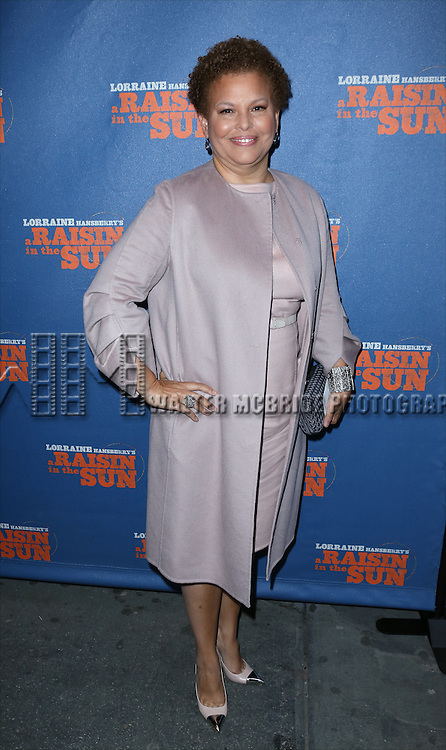 Debra L. Lee  attending the Broadway Opening Night Performance of 'A Raisin In The Sun'  at the Barrymore Theatre on April 3, 2014 in New York City.