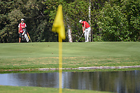 Rafael Cabrera Bello (ESP) hits his approach shot on 6 during round 1 of the World Golf Championships, Mexico, Club De Golf Chapultepec, Mexico City, Mexico. 2/21/2019.<br /> Picture: Golffile | Ken Murray<br /> <br /> <br /> All photo usage must carry mandatory copyright credit (© Golffile | Ken Murray)