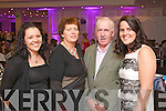 Pictured at the Fashion Show in the Kenmare Bay Hotel on Saturday, from left:  Mairead Reel, Helen Foley, Mossie Foley, Deirdre Myles, all from Tahilla, Sneem.