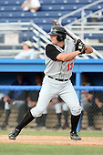 July 14th 2008:  Tom Edwards of the Aberdeen Ironbirds, Class-A affiliate of the Baltimore Orioles, during a game at Dwyer Stadium in Batavia, NY.  Photo by:  Mike Janes/Four Seam Images