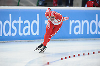SCHAATSEN: BOEDAPEST: Essent ISU European Championships, 07-01-2012, 5000m Men, Pavel Baynov RUS, ©foto Martin de Jong