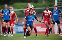Boyds, MD - Saturday May 20, 2017: Sydney Leroux during a regular season National Women's Soccer League (NWSL) match between the Washington Spirit and FC Kansas City at Maureen Hendricks Field, Maryland SoccerPlex.