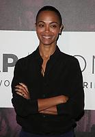 02 November 2018 - Los Angeles, California - Zoe Saldana. TheWrap&rsquo;s Power Women&rsquo;s Summit held at the InterContinental Hotel. <br /> CAP/ADM/FS<br /> &copy;FS/ADM/Capital Pictures