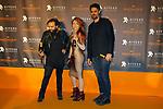 51 Festival Internacional de Cinema Fantastic de Catalunya-Sitges 2018.<br /> Blood Red Carpet.<br /> Rafael Robles, Sandra Arriagada &amp; Nicolas Puenzo.