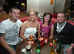 Adam Knapper, Gillian Rogers, Lyndsie Owen and Mark Rooney celebrating Lyndsie's 24th birthday in Bru...Photo NEWSFILE/Jenny Matthews.(Photo credit should read Jenny Matthews/NEWSFILE)....This Picture has been sent you under the condtions enclosed by:.Newsfile Ltd..The Studio,.Millmount Abbey,.Drogheda,.Co Meath..Ireland..Tel: +353(0)41-9871240.Fax: +353(0)41-9871260.GSM: +353(0)86-2500958.email: pictures@newsfile.ie.www.newsfile.ie.FTP: 193.120.102.198.