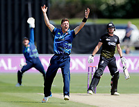 Matt Henry appeals during the Royal London One Day Cup game between Kent and Gloucestershire at the County Ground, Beckenham, on June 3, 2018