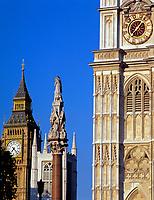 England, London: Westminster Abbey, St. Margret's Church und Big Ben   United Kingdom, London: Westminster Abbey, St. Margret's Church and Big Ben