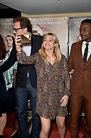 Gabriel LE BOMIN, Louane EMERA, Marc ZINGA - Avant premiere du film ' NOS PATRIOTES ' le 6 juin 2017 - Paris - France