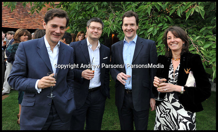 George Osborne's 40th Birthday at Dorney Wood, Saturday June 18, 2011 Photo By Andrew Parsons/Parsons Media