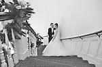 Rachel Zuch and David Haddad's December wedding at Abigail Kirsch's Tappan Hill Mansion, Tarrytown.