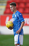 St Johnstone v Rangers...29.09.15   SPFL Development League  McDiarmid Park, Perth<br /> Cameron Lumsden<br /> Picture by Graeme Hart.<br /> Copyright Perthshire Picture Agency<br /> Tel: 01738 623350  Mobile: 07990 594431