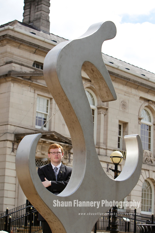 Pix: Shaun Flannery/shaunflanneryphotography.com...COPYRIGHT PICTURE>>SHAUN FLANNERY>01302-570814>>07778315553>>..20th June 2011.................South Yorkshire Business Magazine..Dominic Beck, at 19 years old the youngest councillor in South Yorkshire.