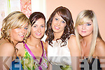 posing for a photo at the Carrigakerry Celtic social on Friday night were Helen Mairead Aine and Edel O' Sullivan......   Copyright Kerry's Eye 2008