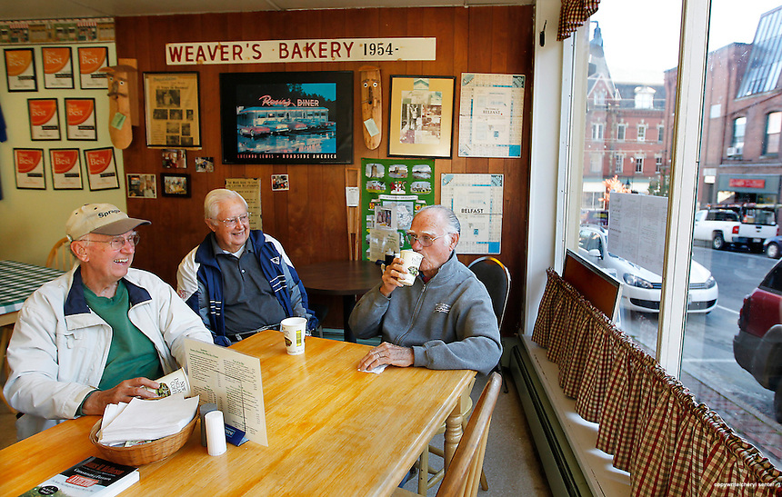 Area shots in Belfast, ME, Tuesday, Sept. 25, 2012.  Weaver's Bakery.  (Cheryl Senter /AP Images for Maine Office of Tourism)