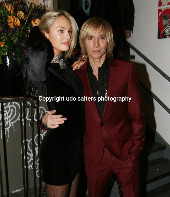 Candice Swanepoel and Marc Bouwer attend MARC BOUWER's EXCLUSIVE SCREENING of the FW2010 film starring CANDICE SWANEPOEL at the Leo Kesting Gallery, New York-   -February 18, 2010