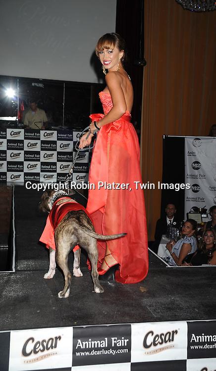 Karina Smirnoff and her dog Randy