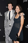 BEVERLY HILLS, CA- FEBRUARY 22: Actress Debra Winger (R) and son Babe Howard arrive at the 16th Costume Designers Guild Awards at The Beverly Hilton Hotel on February 22, 2014 in Beverly Hills, California.