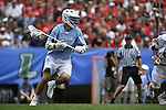 30 MAY 2016: Jack Halpert (4) of the University of North Carolina  against  the University of Maryland during the Division I Men's Lacrosse Championship held at Lincoln Financial Field in Philadelphia, PA. Larry French/NCAA Photos