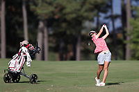 CHAPEL HILL, NC - OCTOBER 13: Yukie Sasaki of the Ohio State University at UNC Finley Golf Course on October 13, 2019 in Chapel Hill, North Carolina.