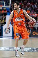 Valencia Basket Club's Rafa Martinez during Spanish Basketball King's Cup semifinal match.February 07,2013. (ALTERPHOTOS/Acero) /NortePhoto