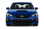 Car photography straight front view of a 2018 Subaru WRX Base 4 Door Sedan