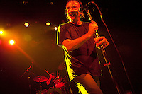NEW YORK - NOV 16: The Jesus Lizard performs at The Fillmore New York at Irving PLaza during their 2009 final tour on Monday, November 16, in New York City. (Photo by Landon Nordeman) The band consists of David Yow (Vocals), Duane Denison (Guitar), David Wiliam Sims (Bass) and Mac McNeilly (Drums). The band played its first live show together in 1989.