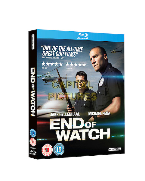 BLURAY COVER ART.in End of Watch (2012) .*Filmstill - Editorial Use Only*.CAP/NFS.Supplied by Capital Pictures.