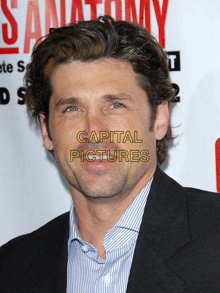 PATRICK DEMPSEY.The Grey's Anatomy 2nd Season DVD Launch held at Social in Hollywood, California, USA..September 5th, 2006.Ref: DVS.headshot portrait .www.capitalpictures.com.sales@capitalpictures.com.©Debbie VanStory/Capital Pictures